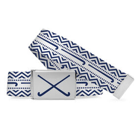 Field Hockey Lifestyle Belt Sticks With Chevron