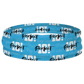 Gymnastics Multifunctional Headwear - Perfect 10 RokBAND