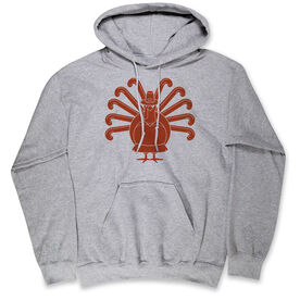 Field Hockey Hooded Sweatshirt - Turkey Player
