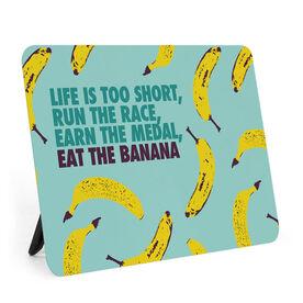 Running Desk Art - Eat The Banana
