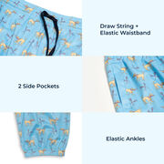 Girls Lacrosse Lounge Pants - Lax Dog