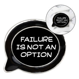 Running Shoelace Charm - Failure Is Not An Option