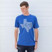 Running Short Sleeve T-Shirt - Texas State Runner