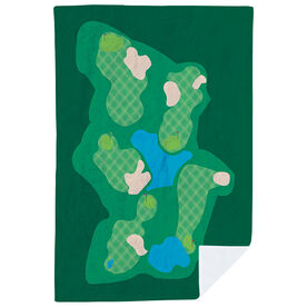 Golf Premium Blanket - The Course