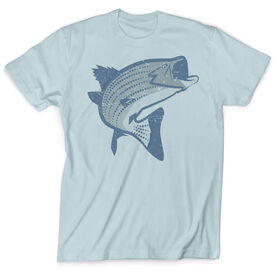 Vintage Fly Fishing T-Shirt - Striper