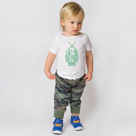 Field Hockey Baby T-Shirt - I Get My Skills From