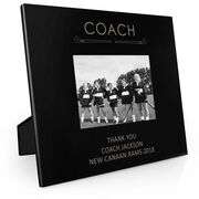 Field Hockey Engraved Picture Frame - Coach