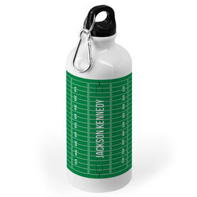 Football 20 oz. Stainless Steel Water Bottle - Field