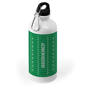 Football 20 oz. Stainless Steel Water Bottle - Field