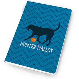 Basketball Notebook Bailey the Basketball Dog