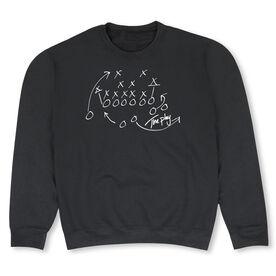 Football Crew Neck Sweatshirt - The Play (Football)