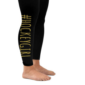 Girls Hockey Leggings #HockeyGirl