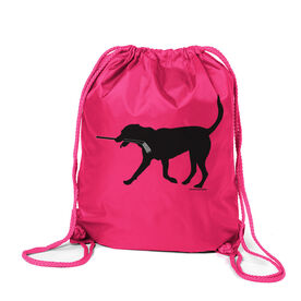 Hockey Sport Pack Cinch Sack Howe the Hockey Dog