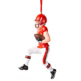 Football Ornament - Football Player