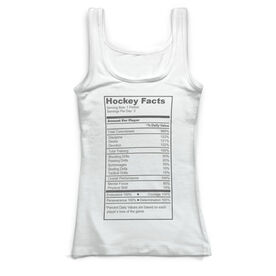 Hockey Vintage Fitted Tank Top - Hockey Fact