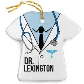Personalized Porcelain Ornament - Doctors Outfit Suit