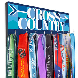 Cross Country Hooked on Medals Hanger - Cross Country Mosaic