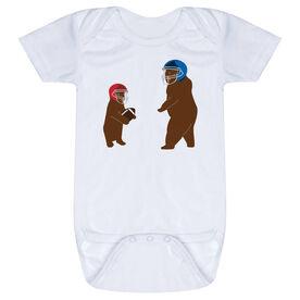 Football Baby One-Piece - Bears