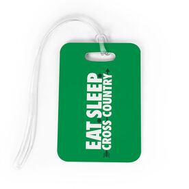 Cross Country Bag/Luggage Tag - Eat Sleep Cross Country