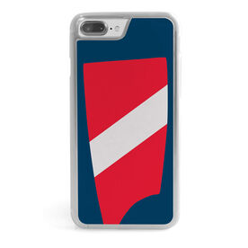 Crew iPhone® Case - Custom Oar Colors 1 Diagonal Stripe