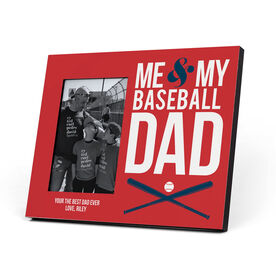 Baseball Photo Frame - Me & My Baseball Dad