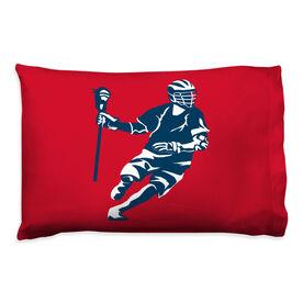 Guys Lacrosse Pillowcase - Dodger Silhouette