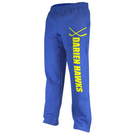 Hockey Fleece Sweatpants Hockey Team Name