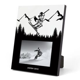 Skiing Photo Frame - Skier