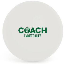 Guys Lacrosse Ball - Coach (Bold)
