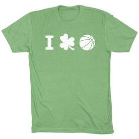Basketball Short Sleeve T-Shirt - I Shamrock Basketball