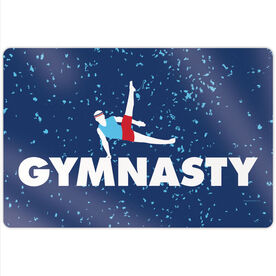 "Gymnastics 18"" X 12"" Aluminum Room Sign - Gymnasty"