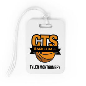 Basketball Bag/Luggage Tag - Custom Logo