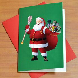 Lax Santa - MySPORT Card