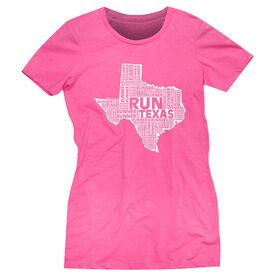 Women's Everyday Runners Tee Texas State Runner