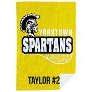 Tennis Premium Blanket - Custom Team Logo