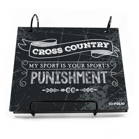 BibFOLIO® Race Bib Album - My Sport Is Your Sport's Punishment