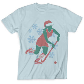 Vintage Field Hockey T-Shirt - Christmas