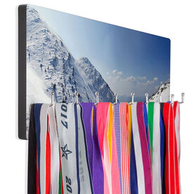 Skiing & Snowboarding Hook Board - Mountain Top