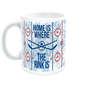 Hockey Coffee Mug - Home Is Where The Rink Is (Rink)