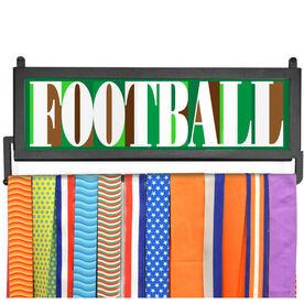 AthletesWALL Medal Display - Football Mosaic
