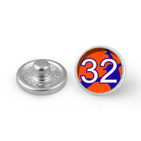 Softball Pitcher Your Number SportSNAPS Charm