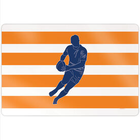 """Rugby 18"""" X 12"""" Aluminum Room Sign - Player"""