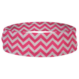 Multifunctional Headwear - Chevron Pink RokBAND