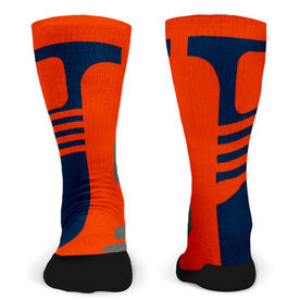Customized Printed Mid Calf Team Socks Synergy