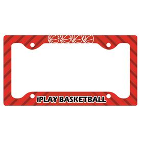 Iplay Basketball License Plate Holder