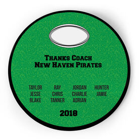 Rugby Circle Plaque - Team Roster