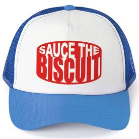 Hockey Trucker Hat Sauce