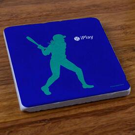 iPlay Softball - Stone Coaster