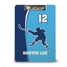 Hockey Custom Clipboard Personalized Hockey Slapshot