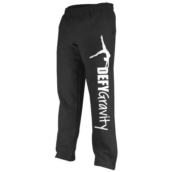 Gymnastics Fleece Sweatpants Defy Gravity